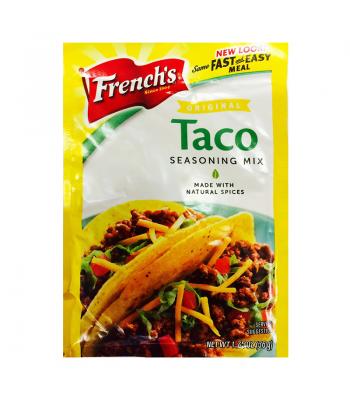 French's Original Taco Seasoning Mix Sachet 1.25oz  Spices & Seasonings French's