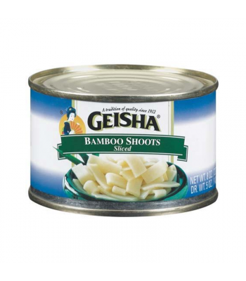 Geisha Sliced Bamboo Shoots - 8oz (226g) Food and Groceries