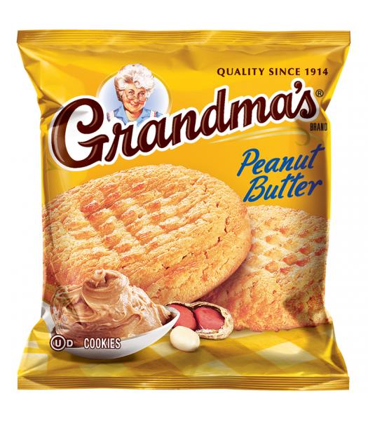 Grandmas - Peanut Butter Cookies - 2.5oz (71g) Cookies and Cakes Grandma's Cookies