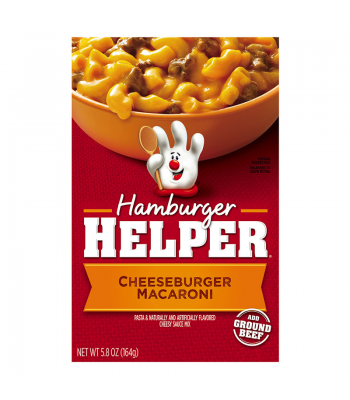 Hamburger Helper Cheeseburger Macaroni 5.8oz (164g) Baking & Cooking Hamburger Helper