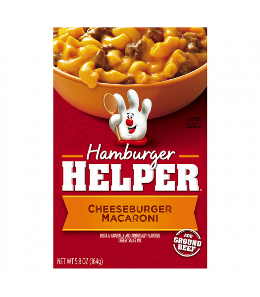 Hamburger Helper Cheeseburger Macaroni 6.6oz (164g) Food and Groceries Hamburger Helper