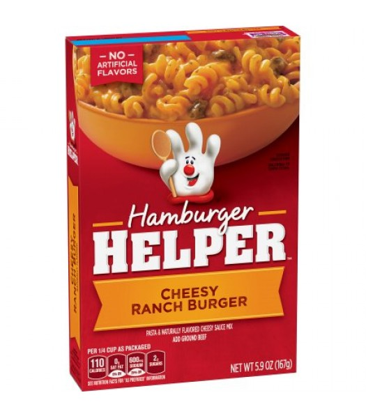 Hamburger Helper Cheesy Ranch Burger 5.9oz (167g) Food and Groceries Hamburger Helper