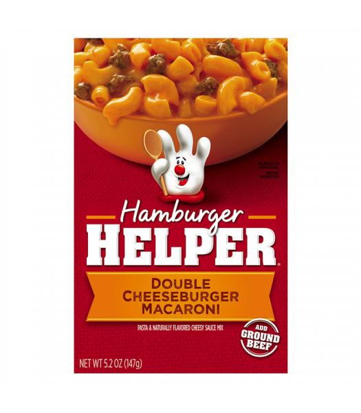 Hamburger Helper Double Cheeseburger Macaroni 6oz (170g) Food and Groceries Hamburger Helper