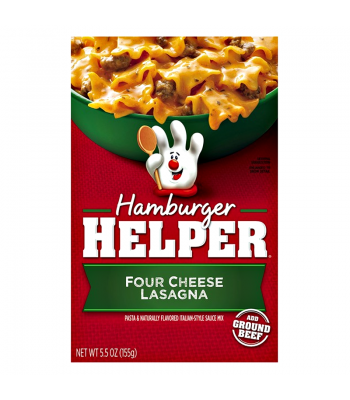 Hamburger Helper Four Cheese Lasagna 5.5oz (155g) Baking & Cooking Hamburger Helper