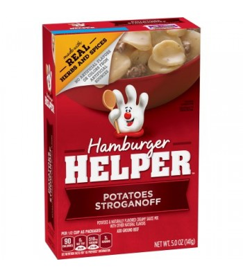 Hamburger Helper Potatoes Stroganoff - 5oz (141g) Food and Groceries Hamburger Helper