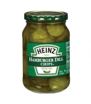 Heinz Hamburger Dill Chips 16oz 454g Pickles Heinz