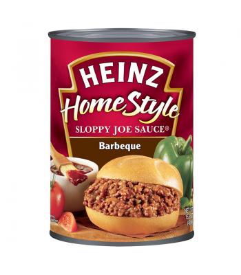 Heinz Homestyle Sloppy Joe Sauce Barbeque 15.5oz (439g) Tinned Groceries Heinz