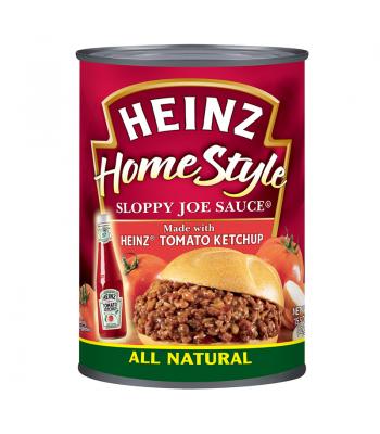 Heinz Homestyle Sloppy Joe Sauce Tomato Ketchup 15.5oz (439g) Tinned Groceries Heinz