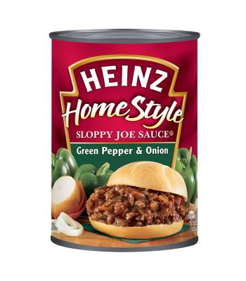 Heinz Sloppy Joe Sauce Green Pepper And Onion 15.5oz (439.4g) Tinned Groceries Heinz