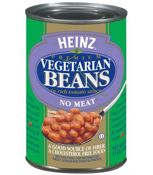 Heinz Vegetarian Baked Beans 16oz (453g) Tinned Groceries Heinz