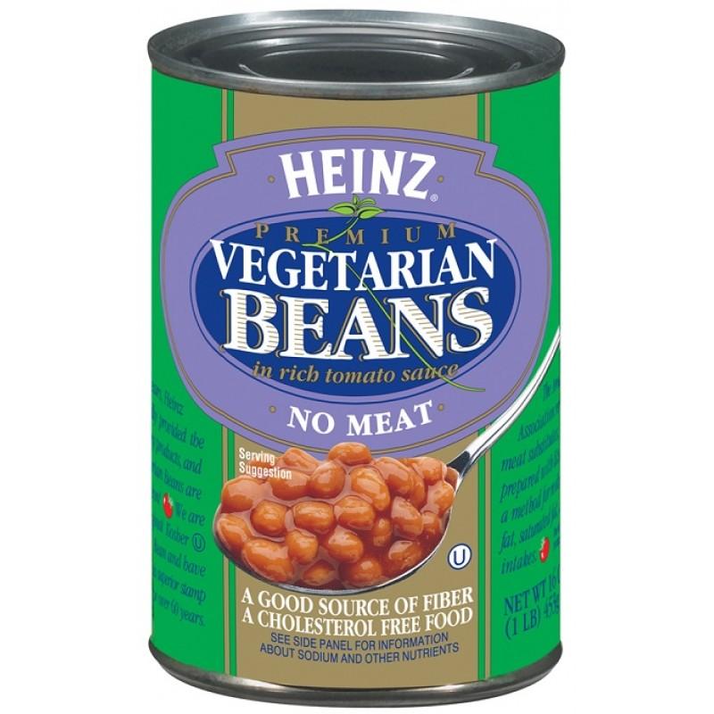 heinz vegetarian baked beans 16oz (453g) - american fizz