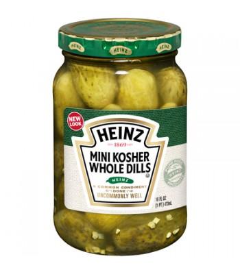 Heinz Kosher Mini Whole Dill Pickles 16oz (454g) Pickles Heinz