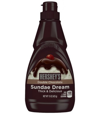 Hershey's Double Chocolate Sundae Dream 15oz (425g) Syrups & Toppings Hershey's
