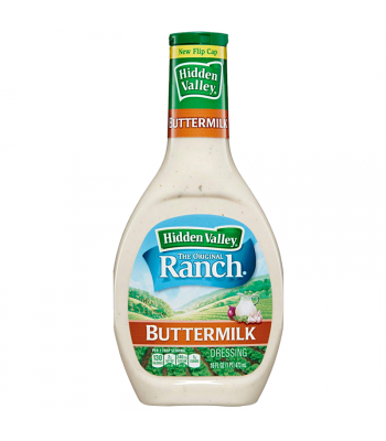 Hidden Valley Ranch Buttermilk Dressing 16oz (473ml) Sauces & Condiments Hidden Valley