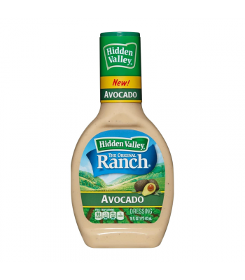 Hidden Valley Ranch Avocado Dressing - 16oz (473ml) Food and Groceries Hidden Valley