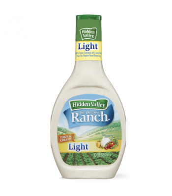 Hidden Valley Original LIGHT Ranch Dressing 16oz (473ml) Sauces & Condiments Hidden Valley