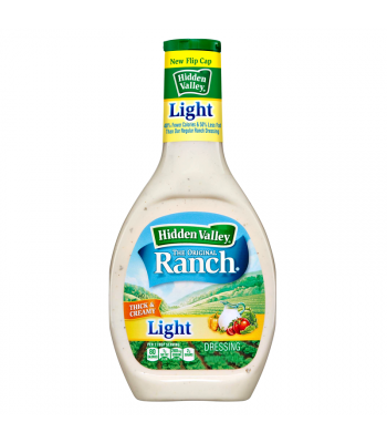 Hidden Valley Original LIGHT Ranch Dressing 8fl.oz (236ml) Sauces & Condiments Hidden Valley