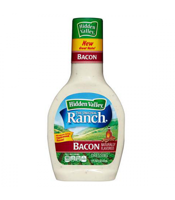 Hidden Valley Original Ranch Bacon Dressing 16oz (473ml) Sauces & Condiments Hidden Valley