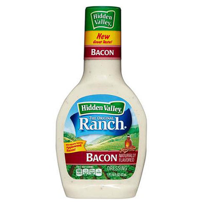 hidden valley original ranch bacon dressing 16oz 473ml american fizz. Black Bedroom Furniture Sets. Home Design Ideas