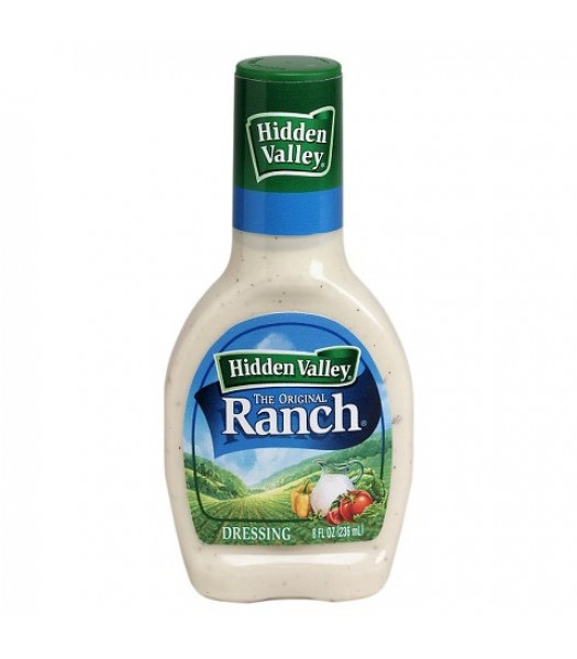 Hidden Valley Original Ranch Dressing 8fl.oz (236ml) Sauces & Condiments Hidden Valley