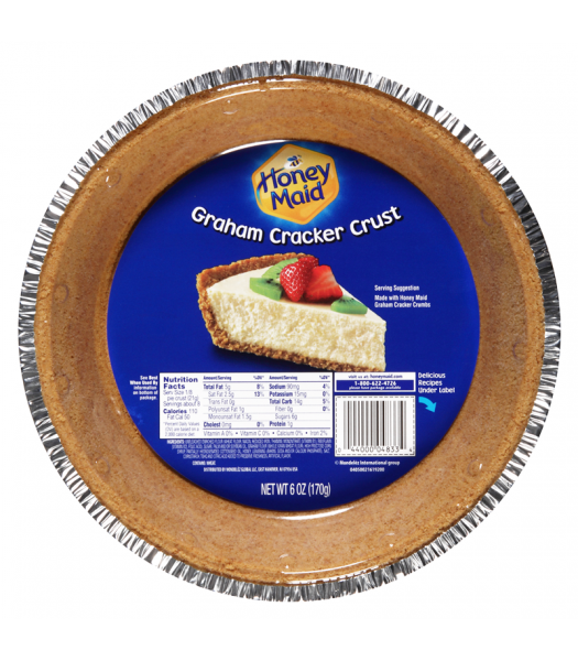 Honey Maid Graham Cracker Pie Crust 6oz (171g) Food and Groceries