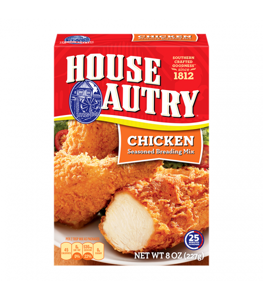 House Autry Chicken Breader - 8oz (227g) Food and Groceries