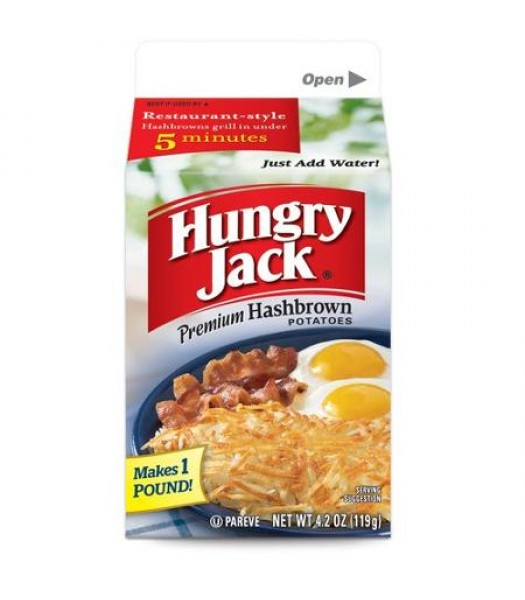 Hungry Jack Hash Brown Mix 4.2oz (119g) Baking & Cooking