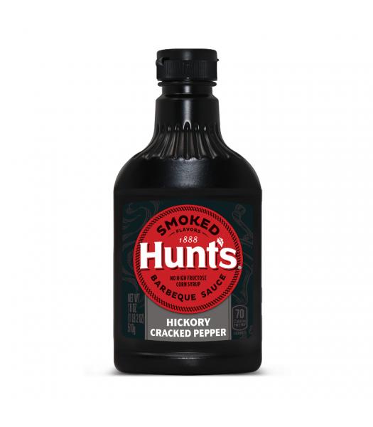 Hunt's Hickory Cracked Black Pepper BBQ Sauce 18oz (510g) Food and Groceries Hunt's