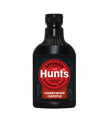 Hunt's Smoked Cherrywood Chipotle Barbecue Sauce - 18oz (510g) Food and Groceries Hunt's