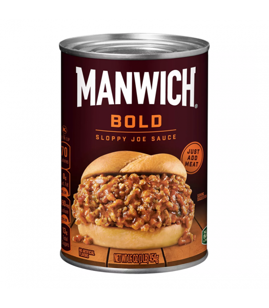 Hunts Manwich Bold Sloppy Joe Sauce - 16oz (454g) Food and Groceries Hunt's