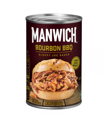 Hunt's Manwich Bourbon BBQ Sloppy Joe Sauce - 16oz (453g) Food and Groceries Hunt's