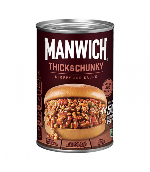 Hunt's Manwich Thick and Chunky Sloppy Joe Sauce 15.5oz (439g) Food and Groceries Hunt's