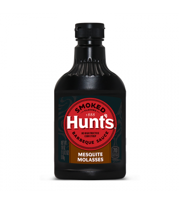 Hunt's Smoked Mesquite Molasses Barbecue Sauce - 18oz (510g) Food and Groceries Hunt's