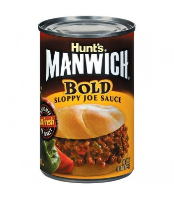 Hunts Manwich Bold Sloppy Joe Sauce 16oz (454g) Sauces & Condiments Hunt's