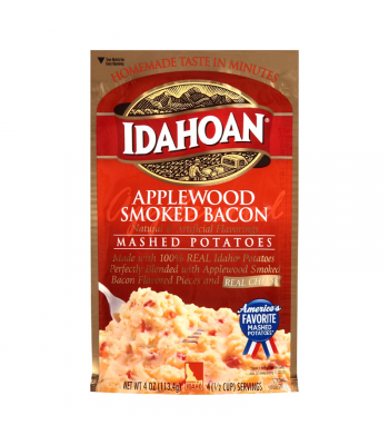 Idahoan Applewood Smoked Bacon Mashed Potatoes 4oz (113.4g) Food and Groceries