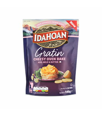 Idahoan Gratin - Cheesy Oven Bake (140g) Food and Groceries
