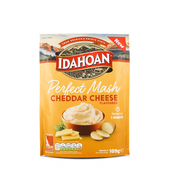 Idahoan Perfect Mash - Cheddar Cheese (109g) Food and Groceries