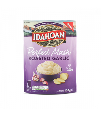 Idahoan Perfect Mash - Roasted Garlic (109g) Food and Groceries