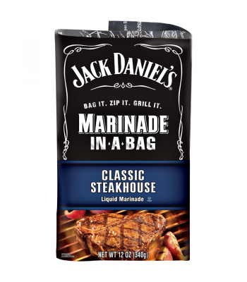 Jack Daniel's EZ Marinader (Liquid Marinader in a Bag) - Steakhouse - 12oz (340g) Baking & Cooking Jack Daniel's