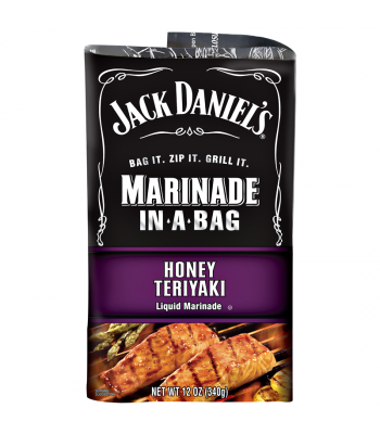 Jack Daniel's EZ Marinader (Liquid Marinader in a Bag) - Honey Teriyaki - 12oz (340g) Food and Groceries Jack Daniel's
