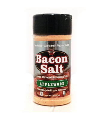 J&D's Applewood Bacon Salt - 2.5oz (70g) Food and Groceries J&D's Bacon Salt