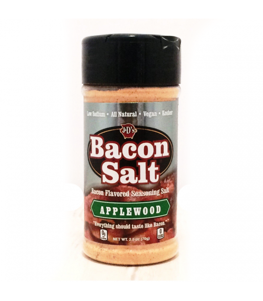 J&D's Applewood Bacon Salt - 2.5oz (70g) Food and Groceries