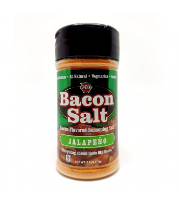 J&D's Jalapeno Bacon Salt - 2.5oz (70g) Food and Groceries J&D's Bacon Salt