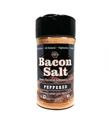 J&D's Peppered Bacon Salt - 2oz (57g) Food and Groceries J&D's Bacon Salt