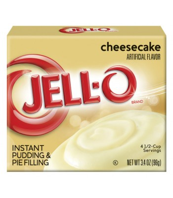 Clearance Special - Jell-O Cheesecake Instant Pudding & Pie Filling 3.4oz (96g) ** Slight Damage ** Clearance Zone
