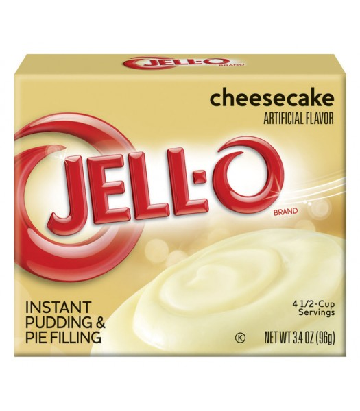 Jell-O - Cheesecake Instant Pudding - 3.4oz (96g) Jelly & Puddings Jell-O
