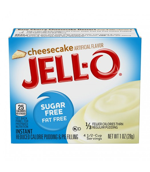 Jell-O - Cheesecake Instant Pudding - Sugar Free - 1oz (28g) Food and Groceries Jell-O