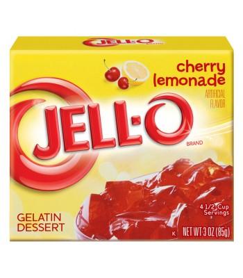 Jell-O - Cherry Lemonade Gelatin Dessert - 3oz (85g) Jelly & Puddings Jell-O