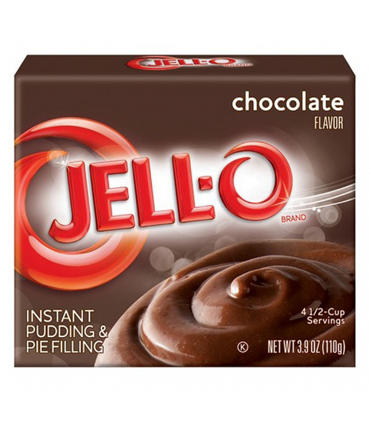 Jell-O - Chocolate Instant Pudding - 3.9oz (110g) Jelly & Puddings Jell-O