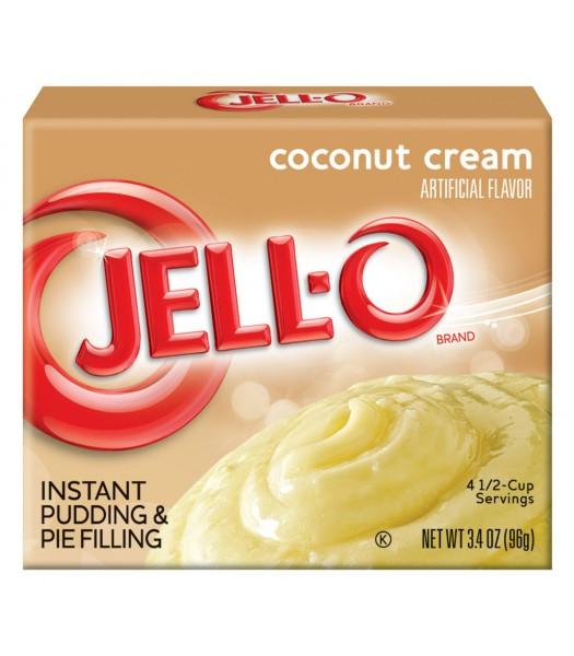 Jell-O - Coconut Cream Instant Pudding - 3.4oz (96g) Jelly & Puddings Jell-O